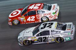 Terry Labonte and Kyle Larson
