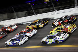 Brian Vickers, Michael Waltrip Racing Toyota, Trevor Bayne, Wood Brothers Racing Ford, Ryan Newman, Richard Childress Racing Chevrolet, Landon Cassill, Hillman Racing Chevrolet, Austin Dillon, Richard Childress Racing Chevrolet