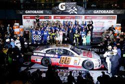 Vencedor Dale Earnhardt Jr., Hendrick Motorsports Chevrolet
