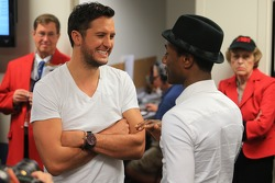 Luke Bryan and Aloe Blacc