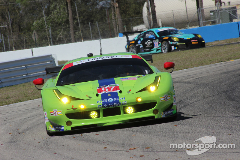 #57 Krohn Racing 法拉利 F458 Italia: 尼克·琼森