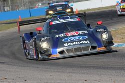 #60 Michael Shank Racing with Curb/Agajanian Riley DP Ford EcoBoost: John Pew, Oswaldo Negri, Justin