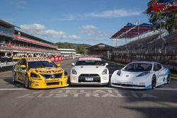 Nissan Altima V8 Supercar, Nissan GT-R ve Nissan Leaf Nismo RC