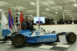 Jacques Villeneuve and Schmidt Petersen Motorsports announce Indy 500 plan