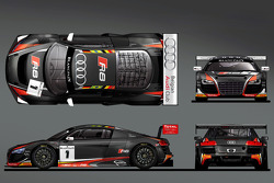 Belga Audi Club WRT 2014 pintura