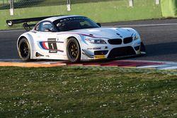 Alex Zanardi tests the BMW Z4 GT3