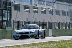 亚历克斯·扎纳尔迪测试宝马Z4 GT3