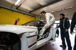 Alex Zanardi testa um BMW Z4 GT3