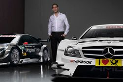 Vitaly Petrov mit Mercedes AMG C-Coupes