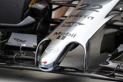McLaren MP4-29: Nase