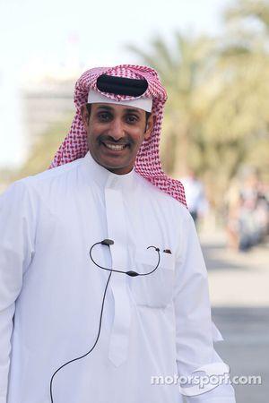 الشيخ سلمان بن عيسى آل خليفة، الرئيس التنفيذي لحلبة البحرين الدولية