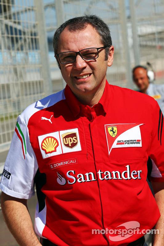 Stefano Domenicali, Direttore Generale Ferrari