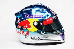 Helm von Sebastian Vettel, Red Bull Racing