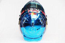 Il casco di Sebastian Vettel, Red Bull Racing