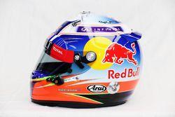 De helm van Daniel Ricciardo, Red Bull Racing