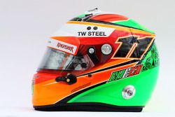 El casco de Sergio Pérez, Sahara Force India F1
