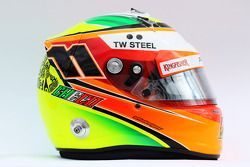 De helm van Sergio Perez, Sahara Force India F1