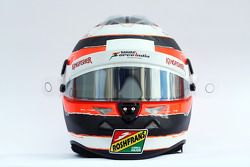De helm van Nico Hulkenberg, Sahara Force India F1