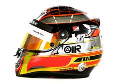 Helm von Jules Bianchi, Marussia F1 Team