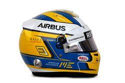 The helmet of Marcus Ericsson, Caterham