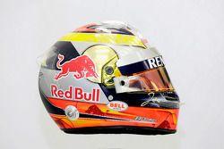 De helm van Jean-Eric Vergne, Scuderia Toro Rosso