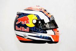 De helm van Daniil Kvyat, Scuderia Toro Rosso