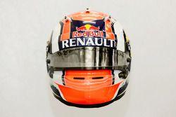 The helmet of Daniil Kvyat, Scuderia Toro Rosso