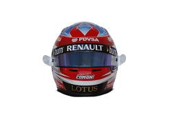 Helm von Romain Grosjean, Lotus F1 Team