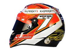 Helm von Kimi Räikkönen, Ferrari