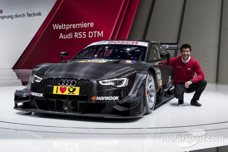 Mike Rockenfeller - 2014-spec Audi RS 5 DTM