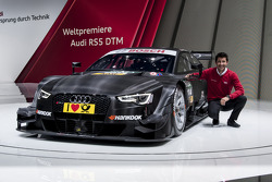 Mike Rockenfeller - 2014-spec Audi RS 5 DTM