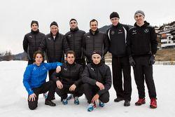 Paul, di Resta, Gary Paffett, Pascal Wehrlein, Robert Wickens, Christian Vietoris, Vitaly Petrov, Daniel Juncadella
