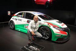 Honda Civic WTCC et Gabriele Tarquini