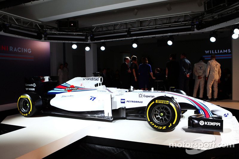 De Williams Martini Racing FW36