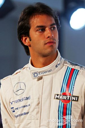 Felipe Nasr, Williams, Testfahrer
