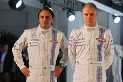 Valtteri Bottas, Williams; Felipe Massa, Williams