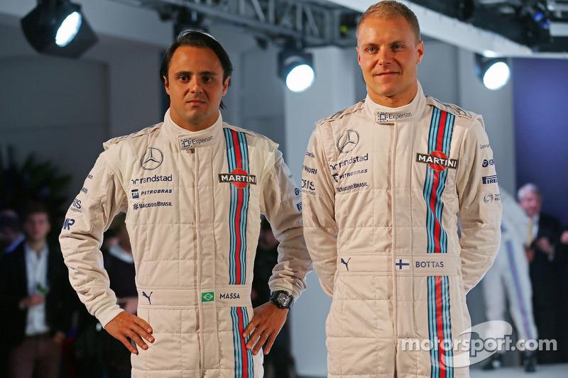 Felipe Massa ve Valtteri Bottas, Williams Martini F1 Takımı