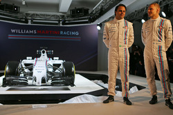 Felipe Massa en Valtteri Bottas, Williams Martini F1 Team