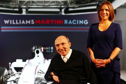 Frank Williams, Williams, Teamgründer; Claire Williams, Williams, Stellvertretende Teamchefin