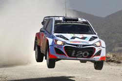 Chris Atkinson y Stéphane Prévot, Hyundai i20 WRC, Hyundai Motorsport