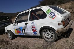 Antigo VW Polo em novas cores