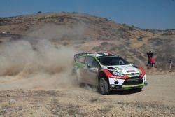 Benito Guerra e Borja Rozada, Ford Fiesta WRC