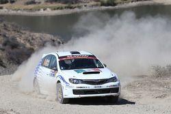 Gianluca Linari y Nicola Arena, Subaru Impreza
