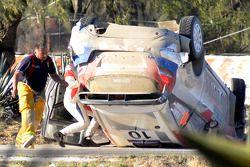 遇到问题,罗伯特·库比卡和Maciek Szczepaniak, 福特嘉年华 WRC
