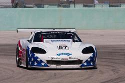 #57 Kryderacing/Carbo Tech Brakes/WRPI Chevrolet Corvette: David Pintaric