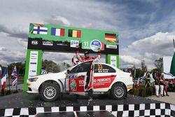 Massimiliano Rendina y Mario Pizzuti, Mitsubishi Lancer Evo X