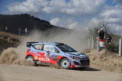 Chris Atkinson and Stéphane Prévot, Hyundai i20 WRC, Hyundai Motorsport