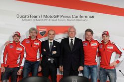Conférence de presse Ducati : Andrea Dovizioso et Cal Crutchlow
