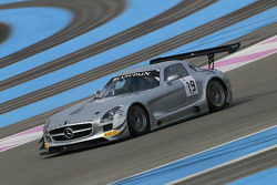 #19 Black Falcon Mercedes SLS AMG GT3