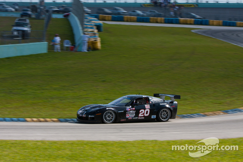 #20 Carbotech Chevrolet Corvette: Russ Snow